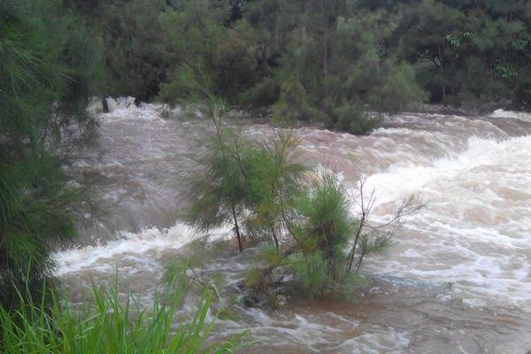 Inondations à la Tamoa ce samedi matin