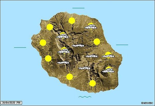 Carte météo 27 avril 2020