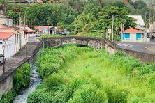 Les berges de la rivière Roxelane à Saint-Pierre.