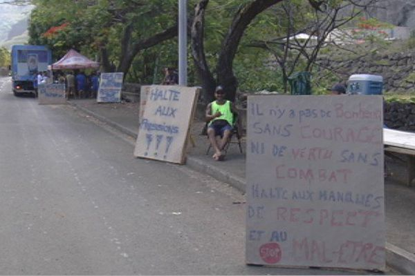 grève à la Brasserie de Tahiti