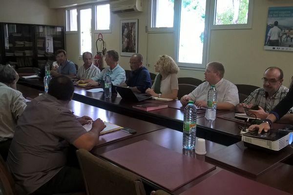 Bois Rouge réunion CPCS
