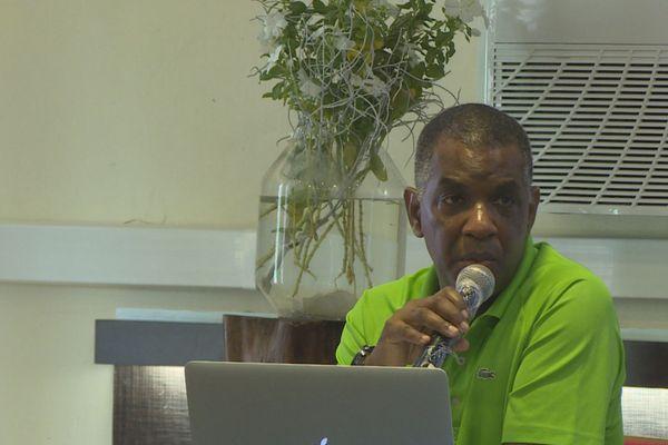 Paul Polydore, Président de la ligue de handball de Guyane