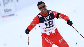 Pita Taufatofua : ski de fond