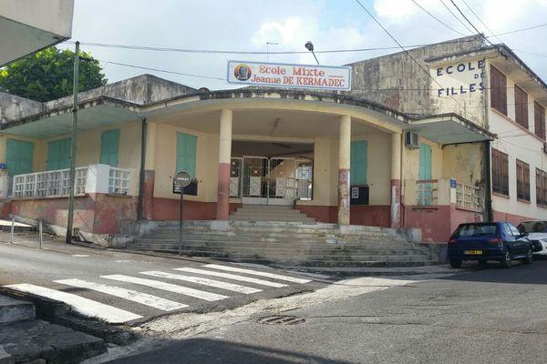 Ecole fermée de Morne à l'Eau
