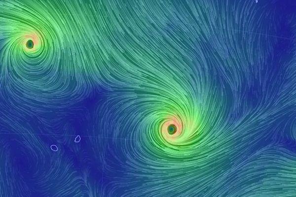 Les cyclones Gelena et Funani le 7 février 2019