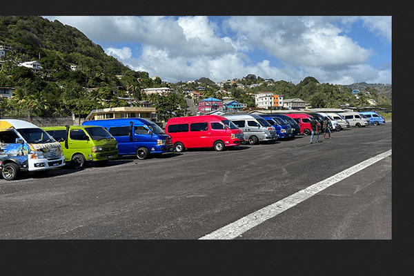Saint Vincent Grenadines taxis collectifs