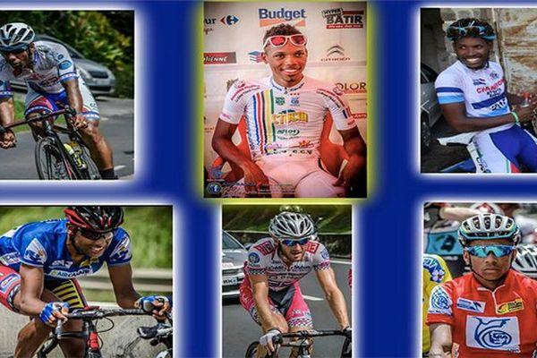 Sélection cycliste de Martinique 2015