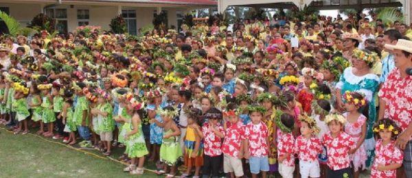Chorale des écoles de Rurutu