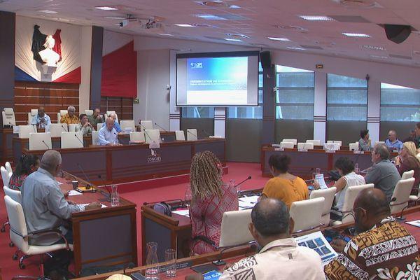 Commission plénière du Congrès sur l'OPT, 14 janvier 2020