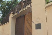 Entrée de l'évêché de Guyane