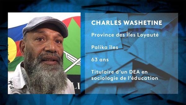 Provinciales 2019: fiche d'identité de Charles Washetine