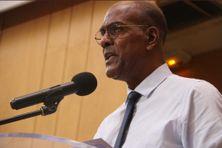 Serge Letchimy, le nouveau président du Conseil Exécutif de la Collectivité Territoriale de Martinique (juillet 2021).