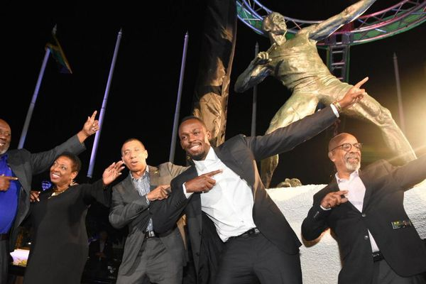 Usain Bolt statue