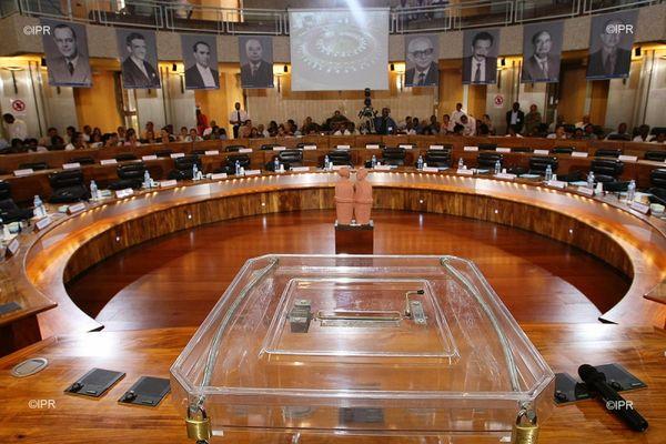 Elections départementales hémicycle