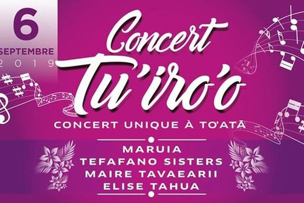 Concert Tu'iro'o : quatre des plus belles voix féminines