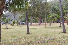 Du jamais vu un dimanche matin, le site de Grand Anse était quasiment désert...
