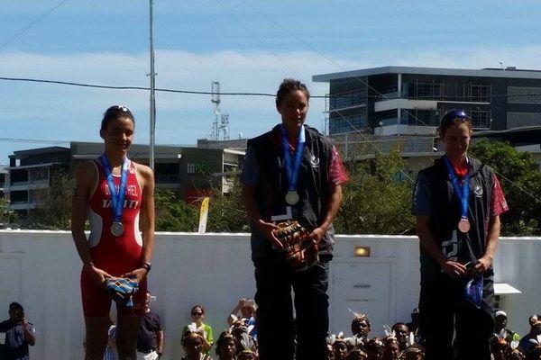 podium triathlon féminin