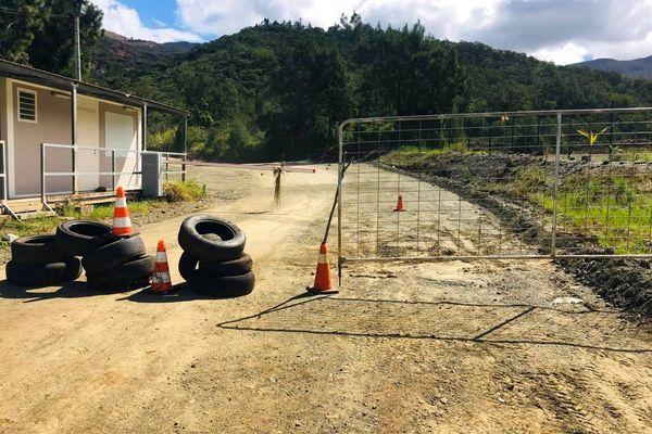 Kouaoua, accès à la mine SLN de Mea bloqué, 20 mai 2021
