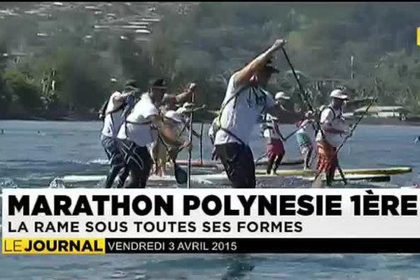 Marathon Polynésie1ère : la rame sous toutes ses formes