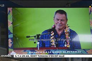 Hommage à Ronald Tumahai, Punaauia n'oublie pas