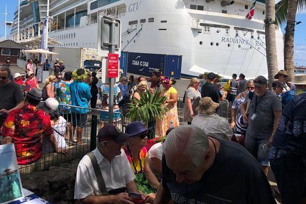 Paquebot croisière Tahiti