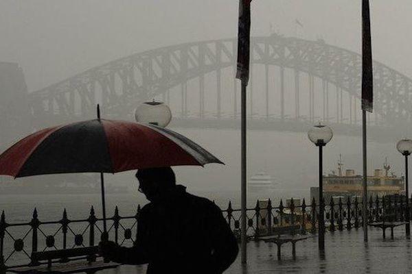 Intempéries à Sydney