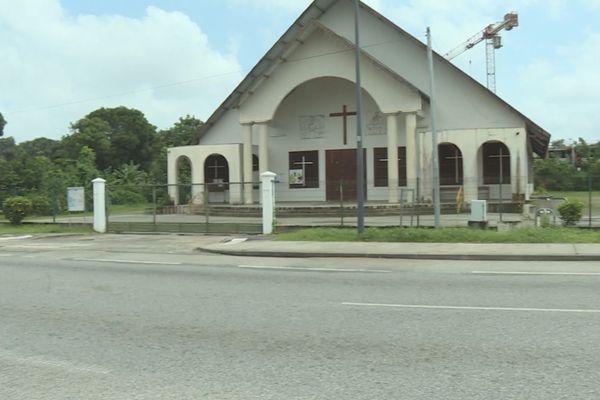 Eglise du Bon pasteur à Saint-Laurent