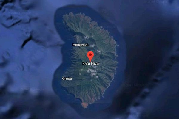 Fatu Hiva google map