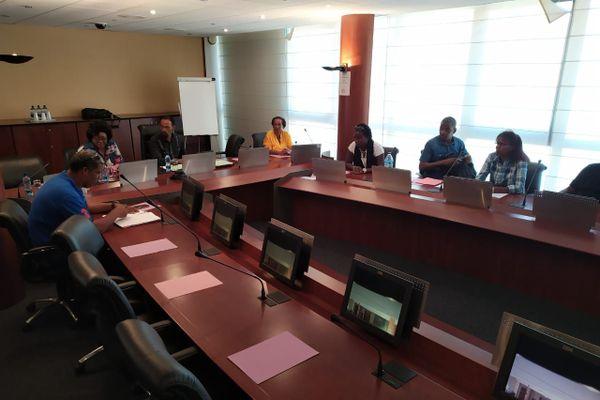 Reprise des négociations Martinique Transports et intersyndicale de la CFTU