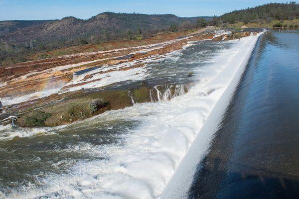 Barrage californie