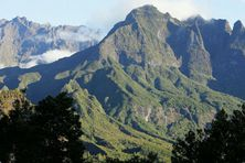 Le massif du Maïdo.