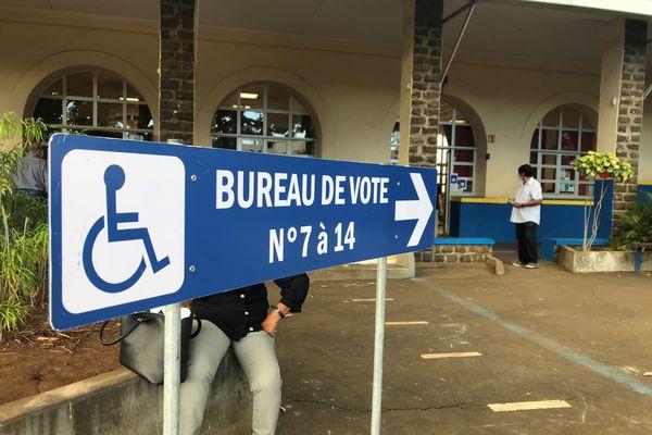 Ouverture bureau de vote joinville Saint-Denis Elections 2021