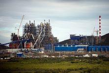 Usine de nickel du Nord en Nouvelle-Calédonie. Koniambo Nickel (SMSP-GLENCORE)