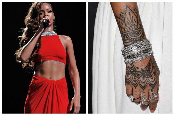 Rihanna et son dernier tatouage sur la main