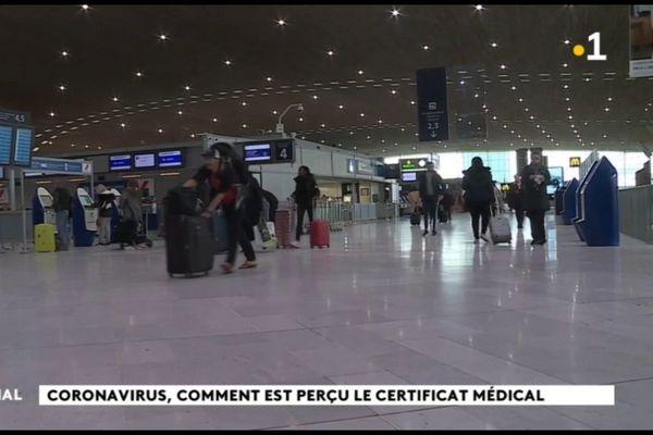 Coronavirus : avis partagés quant à l'efficacité d'un certificat médical à l'embarquement