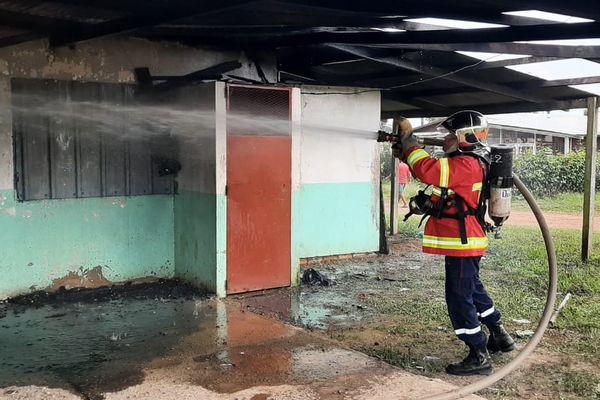 Incendie local FCO à Saint-Georges
