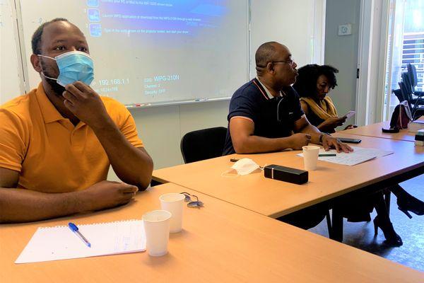 Conférence de presse début saison 2021 2022 handball ligue de Mayotte
