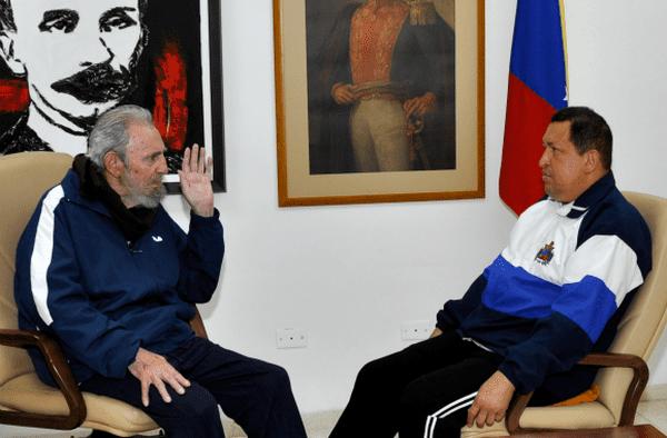 Mars 2012 : Fidel Castro et Hugo Chavez