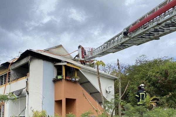 incendie habitation gourbeyre
