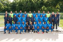 Sélection Martinique football (photo officielle Gold Cup 2021).