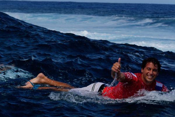 Tahiti Pro : Jérémy Florès au 3e round