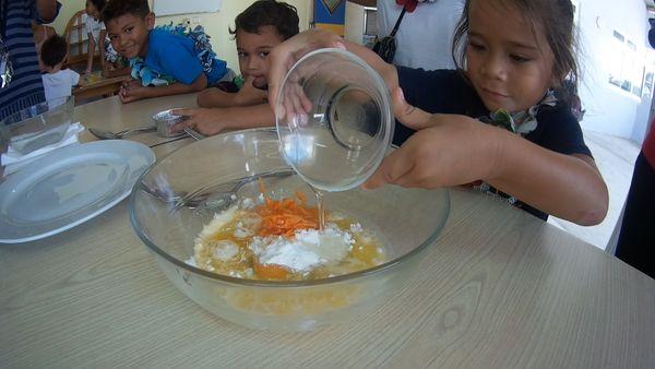 Hao : les tout petits apprennent à manger ce qu'ils produisent