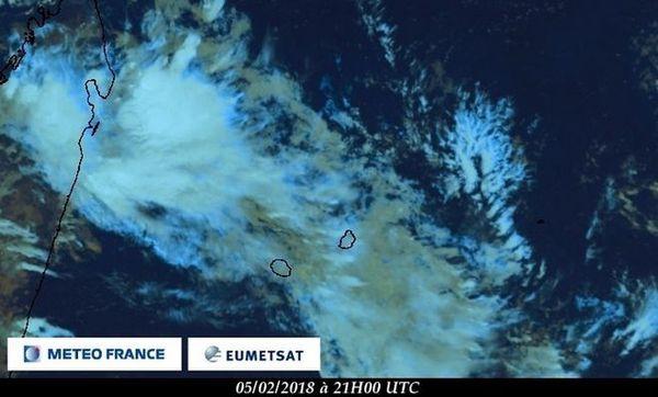 Image satellite du 6 février 2018