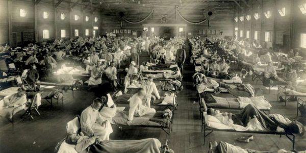 Grippe espagnole 1921