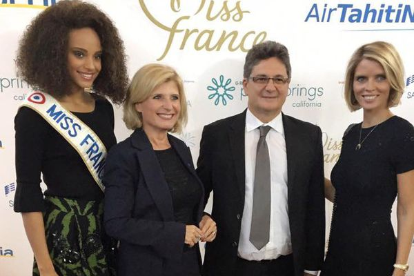 Les candidates Miss France en Californie