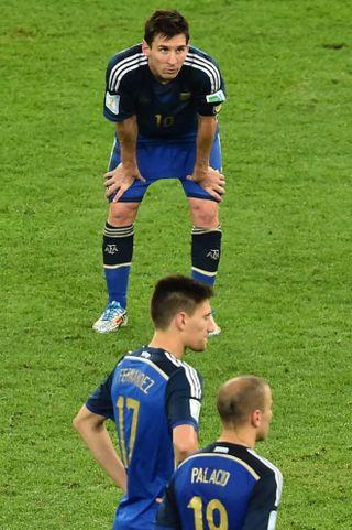 La tristesse de Lionel Messi et des Argentins