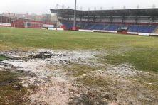 Le stade Georges V de Curepipe est impraticable pour la finale de football.