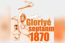Image symbolique de l'insurrection du sud en septembre 1870 en Martinique.