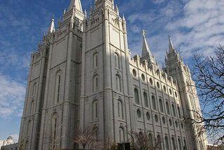 Temple mormon à Salt lake city