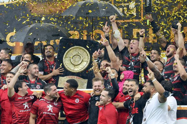 Rugby Toulouse couleur outre mer